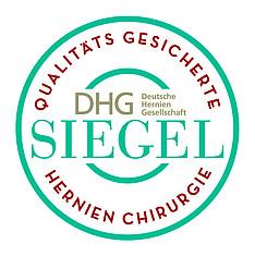 DHG-Siegel Qualitätsgesicherte Hernienchirurgie